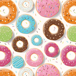 Donuts pattern 002