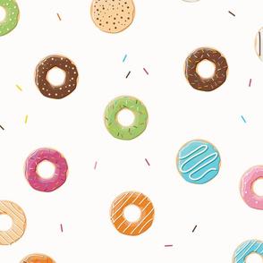 Donuts pattern 004