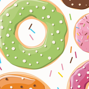 Donuts pattern 005