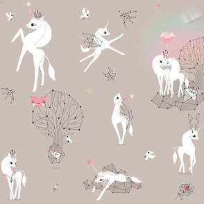 unicorns with rainbow dust healing wishes <3