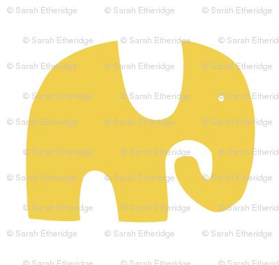 Elephant Parade - Yellow