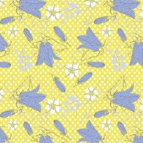 Bellfowers -  enblumen - gelb