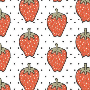 strawberries & polkadots