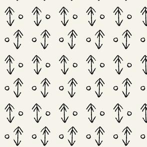 Arrow & Dots