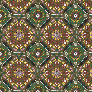 Tadjik design, western Russa