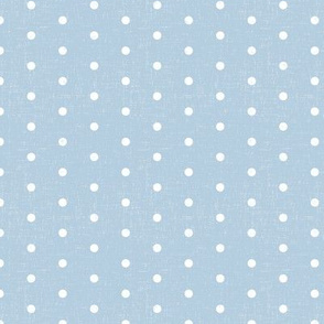 tiny polka dots - chambray blue