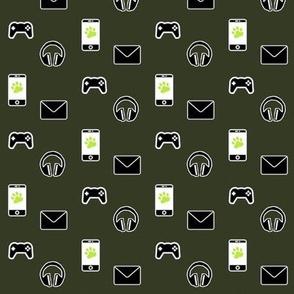 Millennials (army green gamers variant)