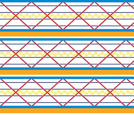 Gate Bright fabric by allisondoanedesign on Spoonflower - custom fabric
