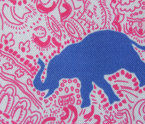 Paisley-Power-navy-raspberry-elephant-print-fabric-design