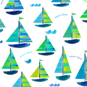 Sailing Beaver Island