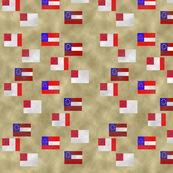 Confederate Flag Fabric