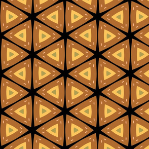 African Inspired Geometric Pattern