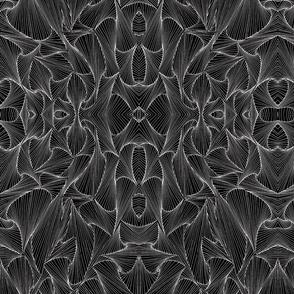 Anxiety Doodles - black_symmetry