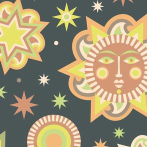 Sun and star