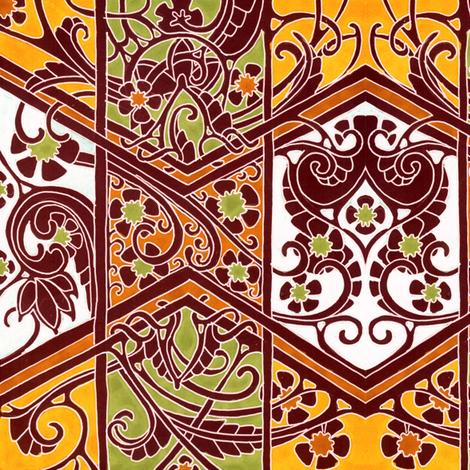 Autumn Returns Again fabric by edsel2084 on Spoonflower - custom fabric