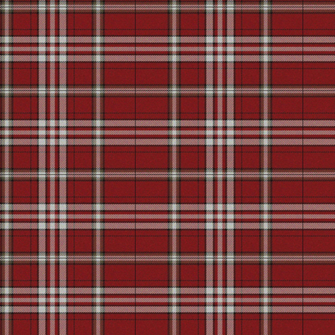 Country Red Tartan fabric by lilyoake on Spoonflower - custom fabric