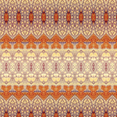 Butterscotch and Vanilla  fabric by vickywestover on Spoonflower - custom fabric