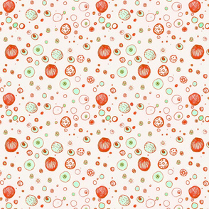 Coral & Mint Spots