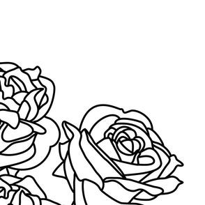 Vintage Rose Lines (Large)