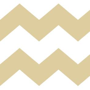 Gold Chevron Large