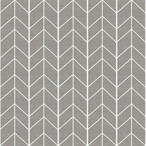 Small Arrow Chevron - Greige