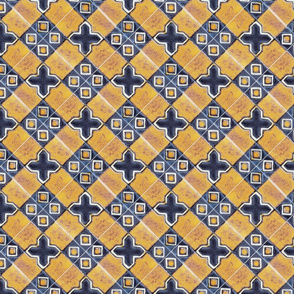 Traditionan glazed tiles