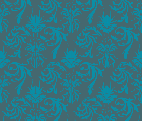 Buggy Damask 2 fabric by joan_mcguire on Spoonflower - custom fabric