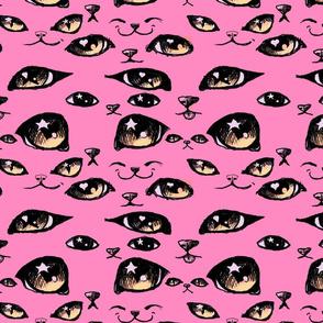 Kitty Eyes Pink