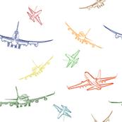 Pastel Planes Sketches