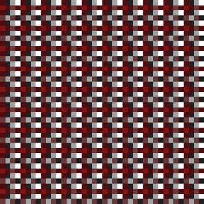 Buffalo Plaid Burgundy (red)