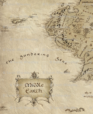 Middle Earth: The Sundering Sea