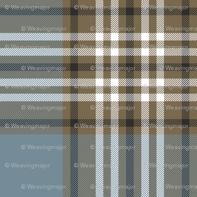 Tweedside hunting tartan, weathered