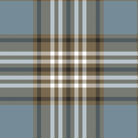 Tweedside hunting tartan, weathered fabric by weavingmajor on Spoonflower - custom fabric