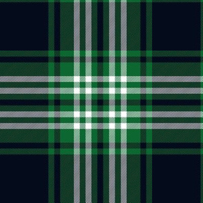 Tweedside green tartan