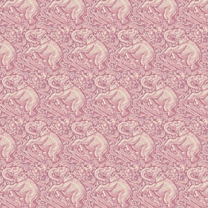 BIG MAUVE ELEPHANTS