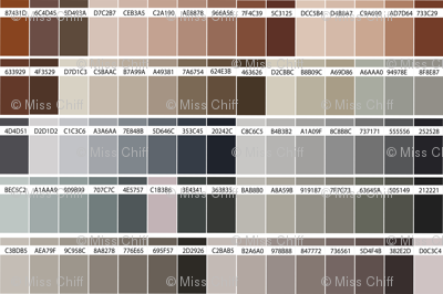 color map brown-01