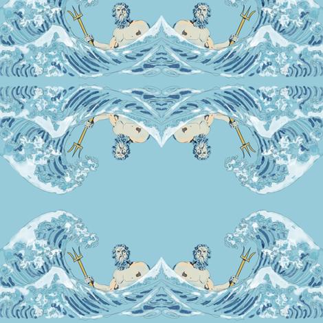Neptune fabric by rufkisneptune on Spoonflower - custom fabric
