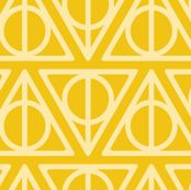 Pastel Potter -   Deathly Hallows Yellow