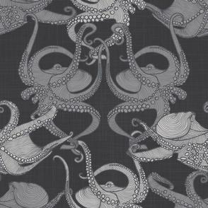 Cephalopod - Octopi smaller - Mono