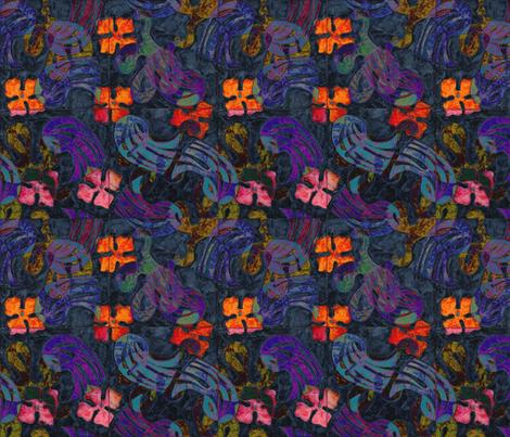 undersea fabric by exb on Spoonflower - custom fabric