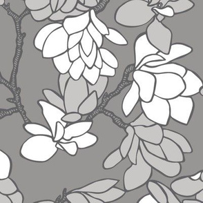 Magnolia Story Branches - Grey
