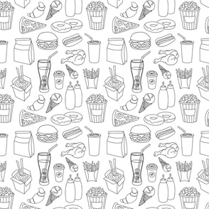 Doodle_pattern_fast_food