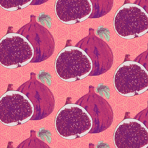 Pink and Purple Figs
