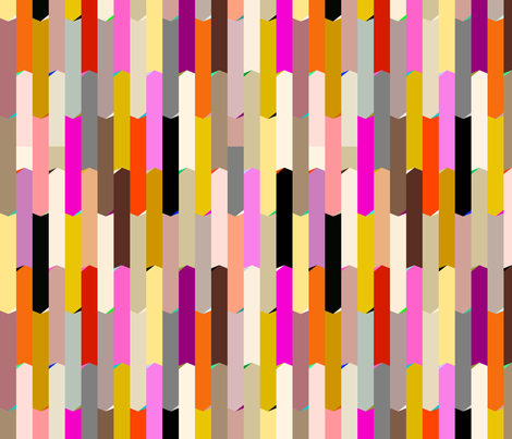 Chasing Stripes | Air Balloon fabric by yarnyarnco on Spoonflower - custom fabric