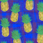 Dancing Blue Pineapples