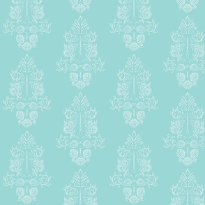 Sea Damask Smaller Version