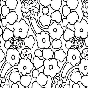 SOOBLOO_BLACK_AND_WHITE_FLOWERS