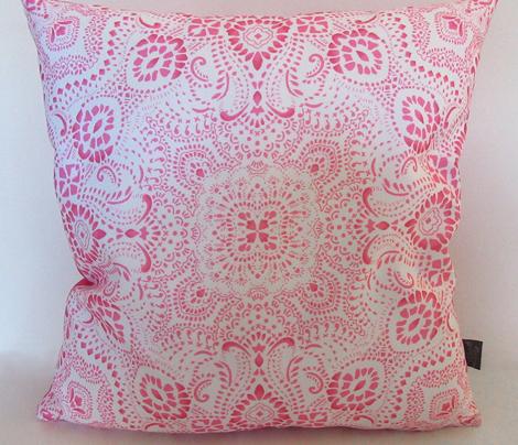 Mosaic Bandana Pink