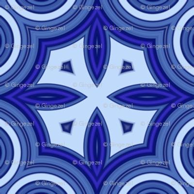 Blueberry blue Quatrafoil