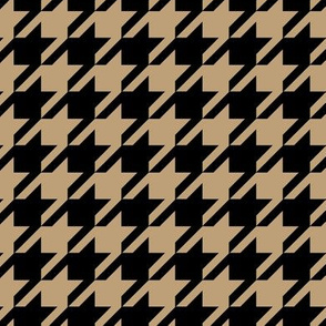 Khaki & Black Houndstooth_Miss Chiff Designs